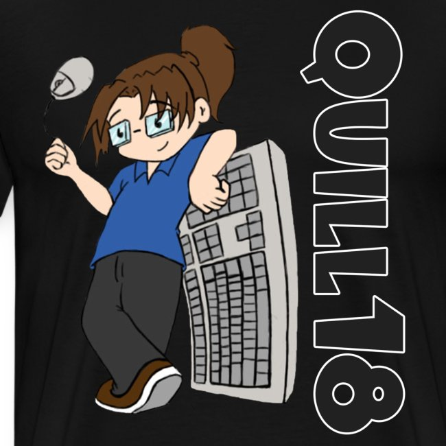 Quill18 Old School Logo