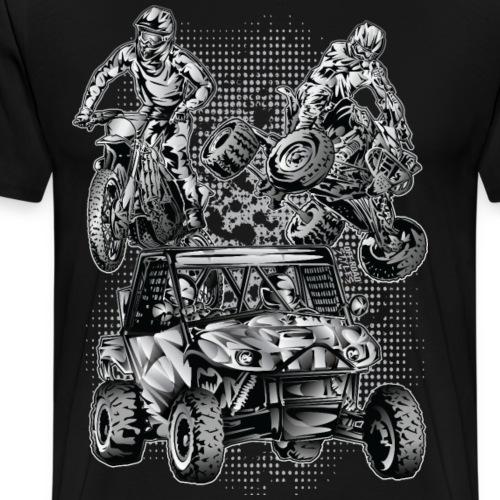 Extreme Motorsports - Men's Premium T-Shirt