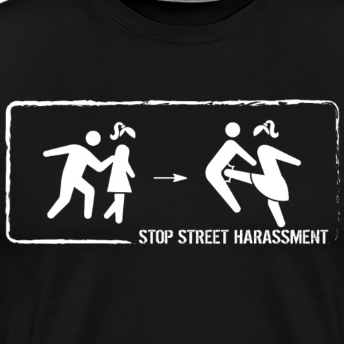 No touching - Men's Premium T-Shirt