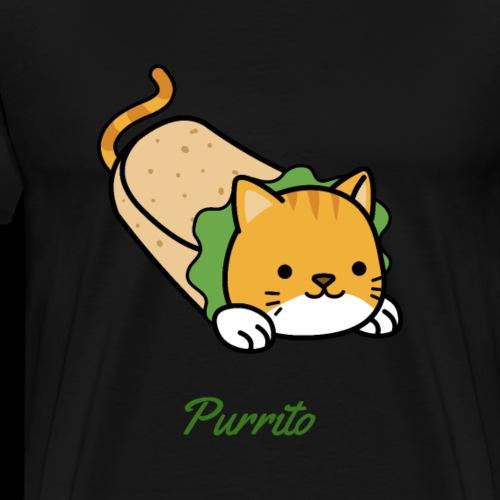 Purrito | Kitten Burrito - Men's Premium T-Shirt