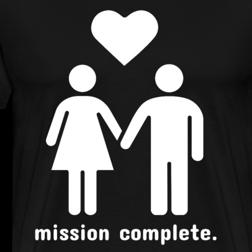 Mission Complete | In Love - Men's Premium T-Shirt