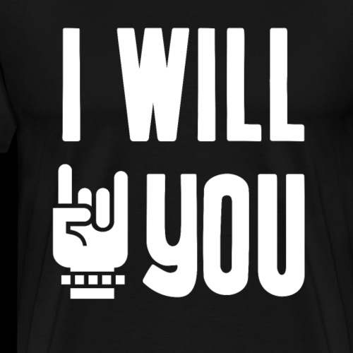 I Will Rock You | Music - Men's Premium T-Shirt
