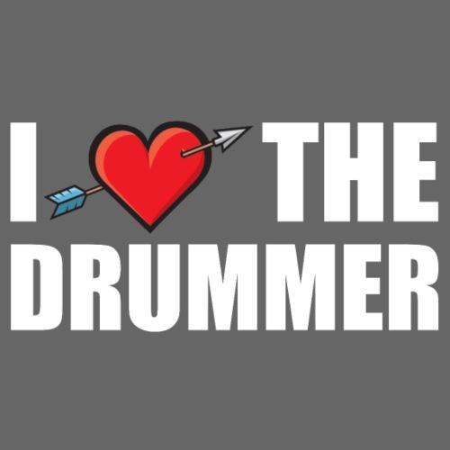 I Love The Drummer 2 - Men's Premium T-Shirt