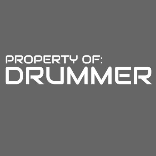 Property Of Drummer 1 - Men's Premium T-Shirt