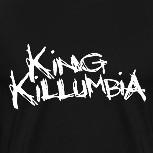 King Killumbia White Logo - Men's Premium T-Shirt