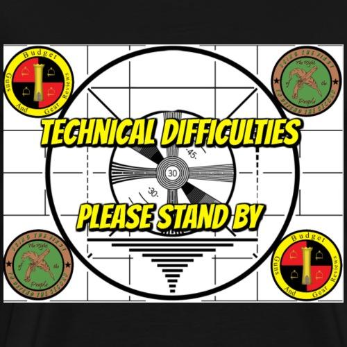 Technical Difficulties - Men's Premium T-Shirt