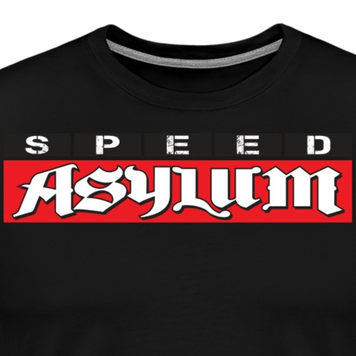 Speed Asylum Logo - Men's Premium T-Shirt