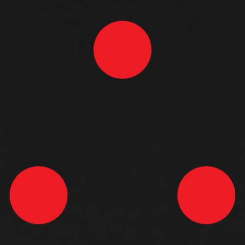 Predator Three Dots - Men's Premium T-Shirt