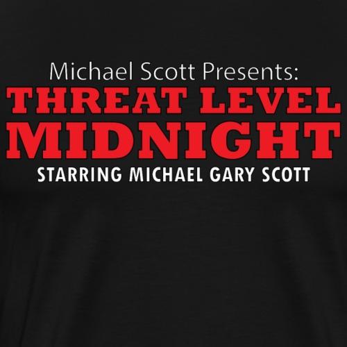 Threat Level Midnight - Men's Premium T-Shirt