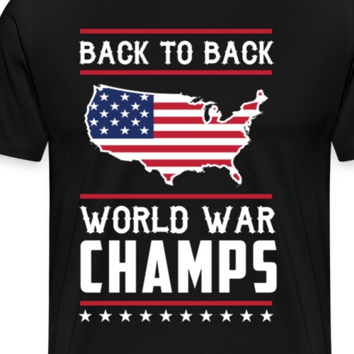 Back To Back Champs - Men's Premium T-Shirt