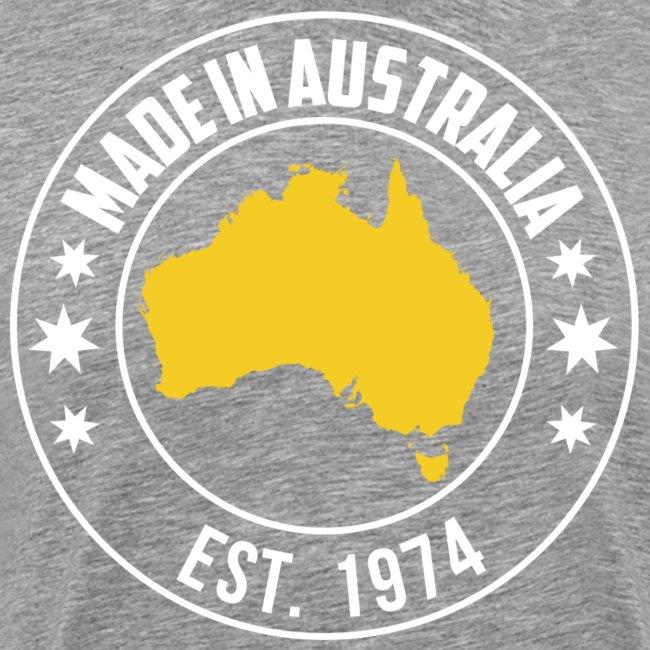 Made in AUSTRALIA Est 1974