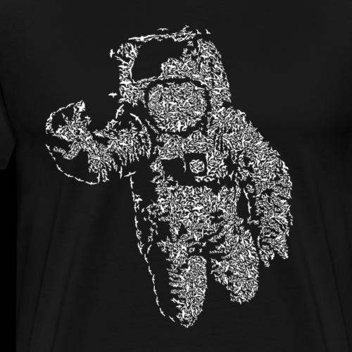 Flying Astronaut - Men's Premium T-Shirt
