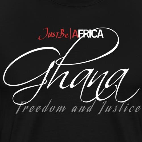 Ghana Sleek - Dark - Men's Premium T-Shirt
