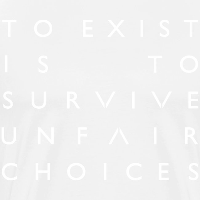 The OA - To Exist Is To Survive Unfair Choices