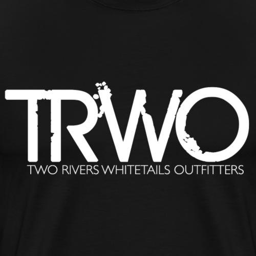 trw white - Men's Premium T-Shirt