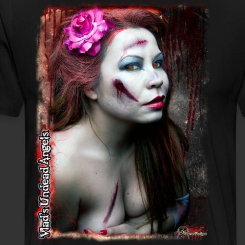 Live Undead Angels: Zombie Cupid Scarlet 3 - Men's Premium T-Shirt