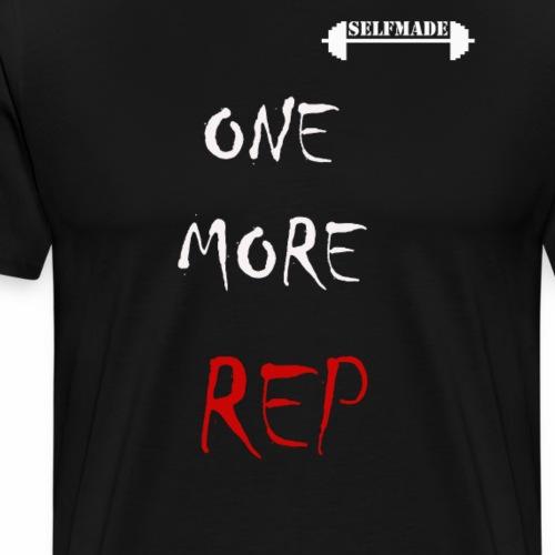 ONE MORE REP - Men's Premium T-Shirt
