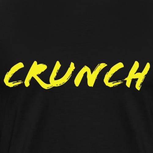 Yellow Crunch - Men's Premium T-Shirt