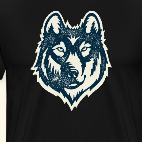Wolf Shirt, I Am A Wolf, Wolf tshirt, Animal Shirt - Men's Premium T-Shirt
