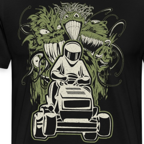 Lawn Mower Demons - Men's Premium T-Shirt