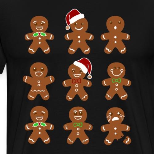 Funny Christmas Baking Team T-Shirts - Men's Premium T-Shirt