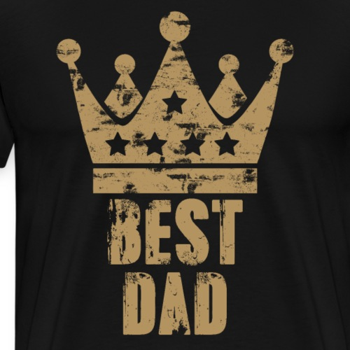 Best Dad - Father's Day Gift - Men's Premium T-Shirt