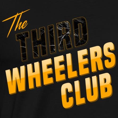 the Third Wheelers Club Yellow - Men's Premium T-Shirt