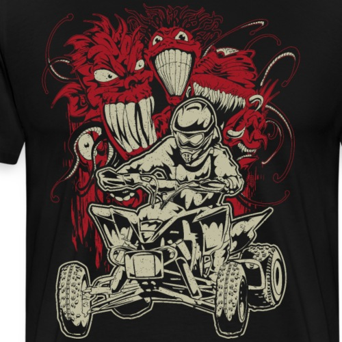 ATV Quad Monsters - Men's Premium T-Shirt