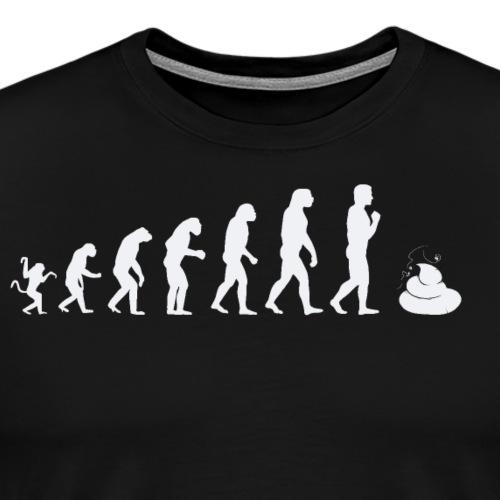 Evolution of man - shit