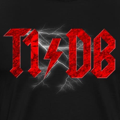T1/DB AC/DC Style - Men's Premium T-Shirt
