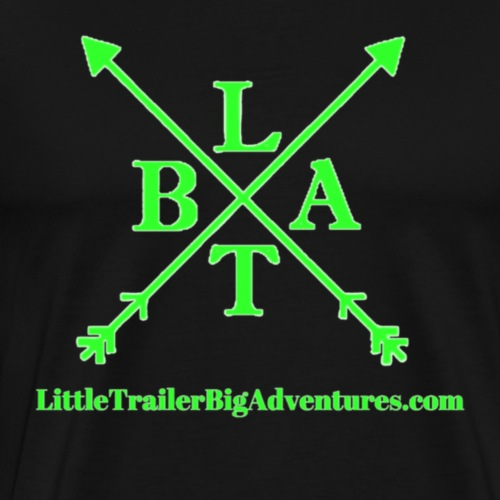 Green LTBA Logo - Men's Premium T-Shirt