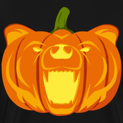 Pumpkin Bear - Men's Premium T-Shirt