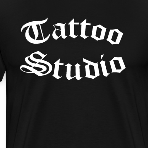 Tattoo Studio - Men's Premium T-Shirt