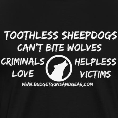 Toothless Sheepdogs - Men's Premium T-Shirt