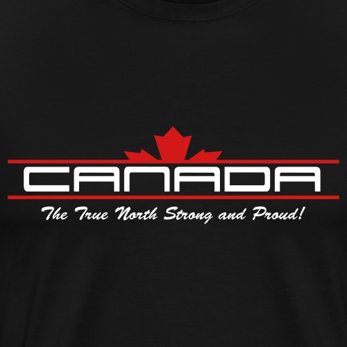 True North Strong and Proud - Men's Premium T-Shirt
