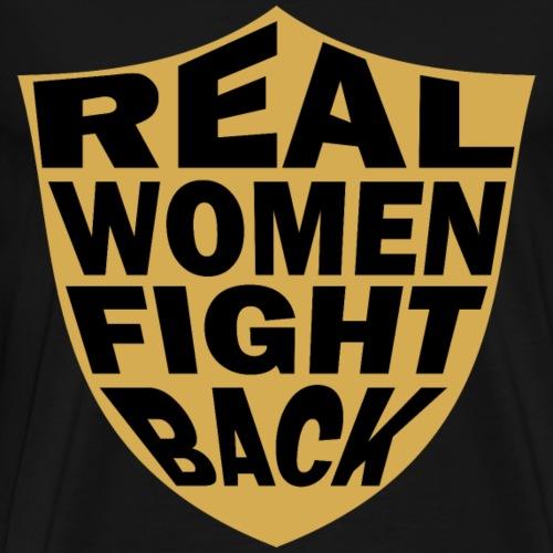 Real Women Color Shield - Men's Premium T-Shirt