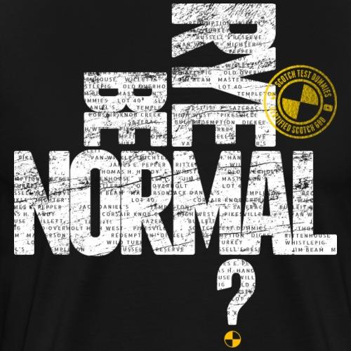 Scotch Test Dummies...Rye Be Normal? - Men's Premium T-Shirt
