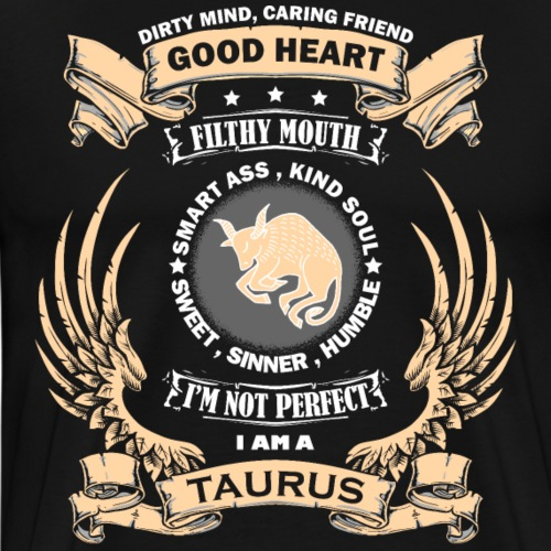 Zodiac Sign - Taurus - Men's Premium T-Shirt