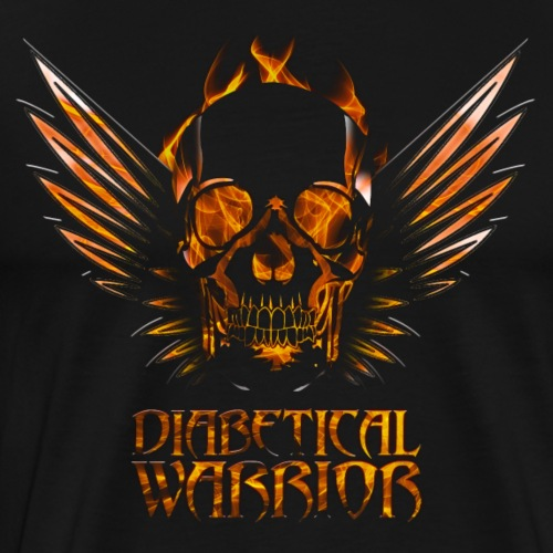 Diabetical Warrior - Men's Premium T-Shirt
