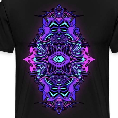 Eternal Voyage III - UV - Men's Premium T-Shirt