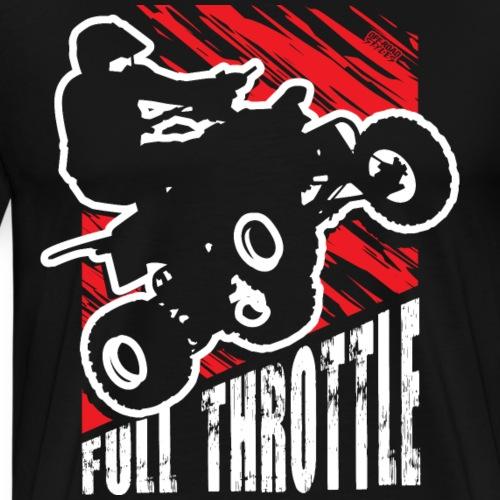 ATV Quad Race Rider - Men's Premium T-Shirt