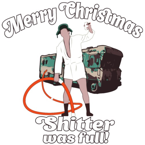 Cousin Eddie Shitter Was Full - Men's Premium T-Shirt