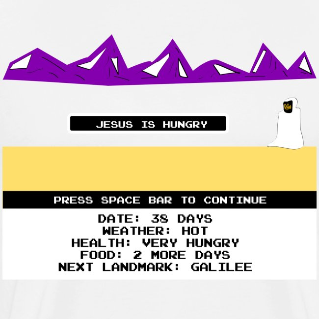 Jesus Is Hungry