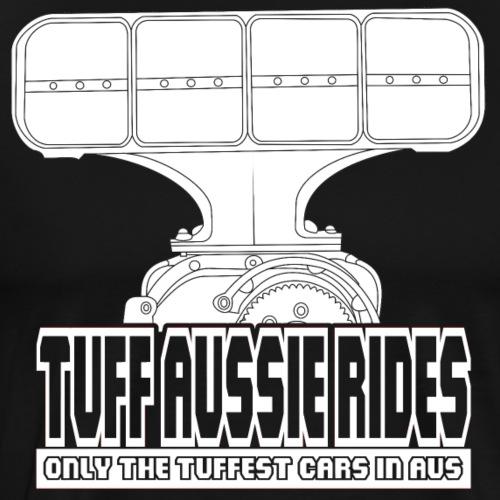 Tuff Aussie Rides Blower Design - Men's Premium T-Shirt