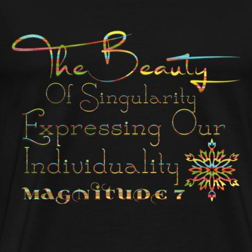 The Beauty Of Singularity - Men's Premium T-Shirt