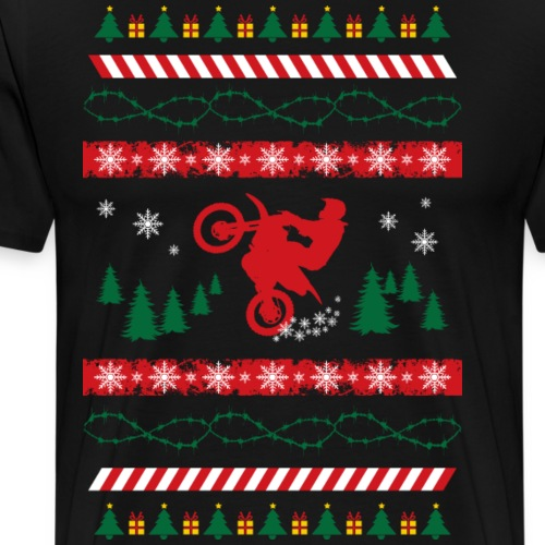 Ugly Christmas Sweater MX - Men's Premium T-Shirt