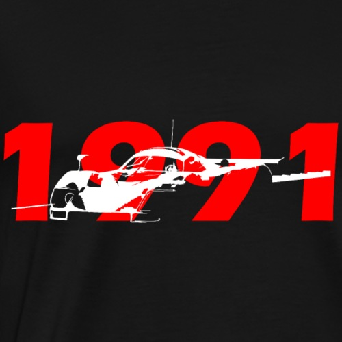Racing car 1991 - Men's Premium T-Shirt
