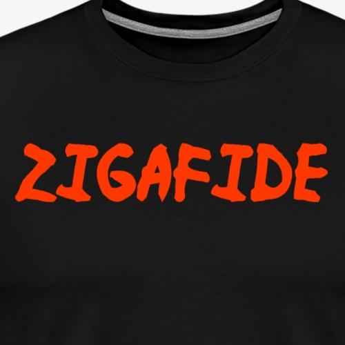 Zigafide (Alt Font) - Men's Premium T-Shirt