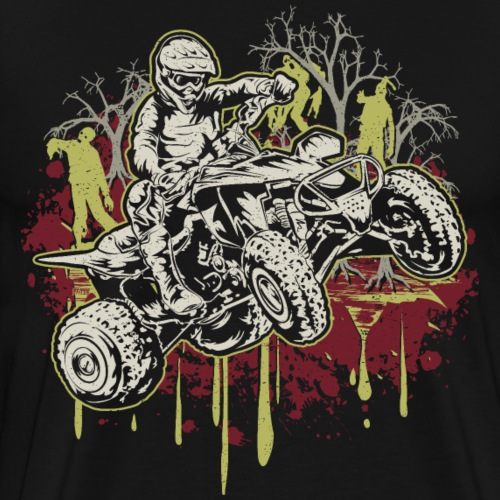 ATV Halloween Zombies - Men's Premium T-Shirt