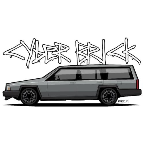 Cyberbrick Future Electric Wagon Graffiti